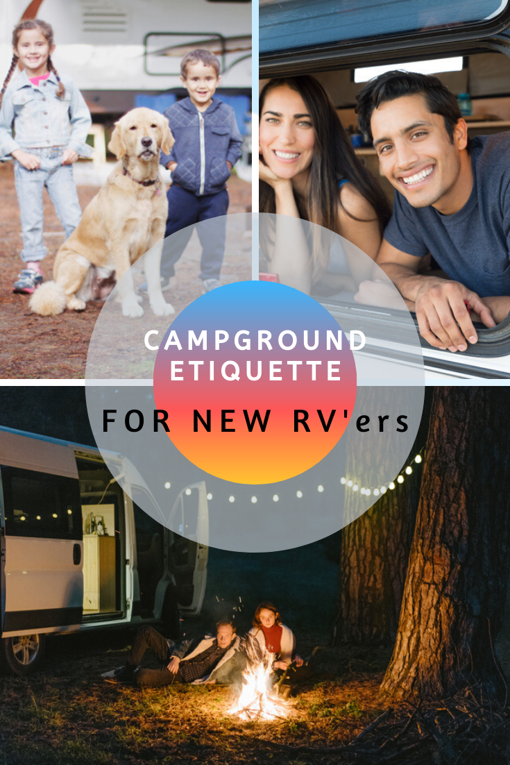 Campground etiquette family