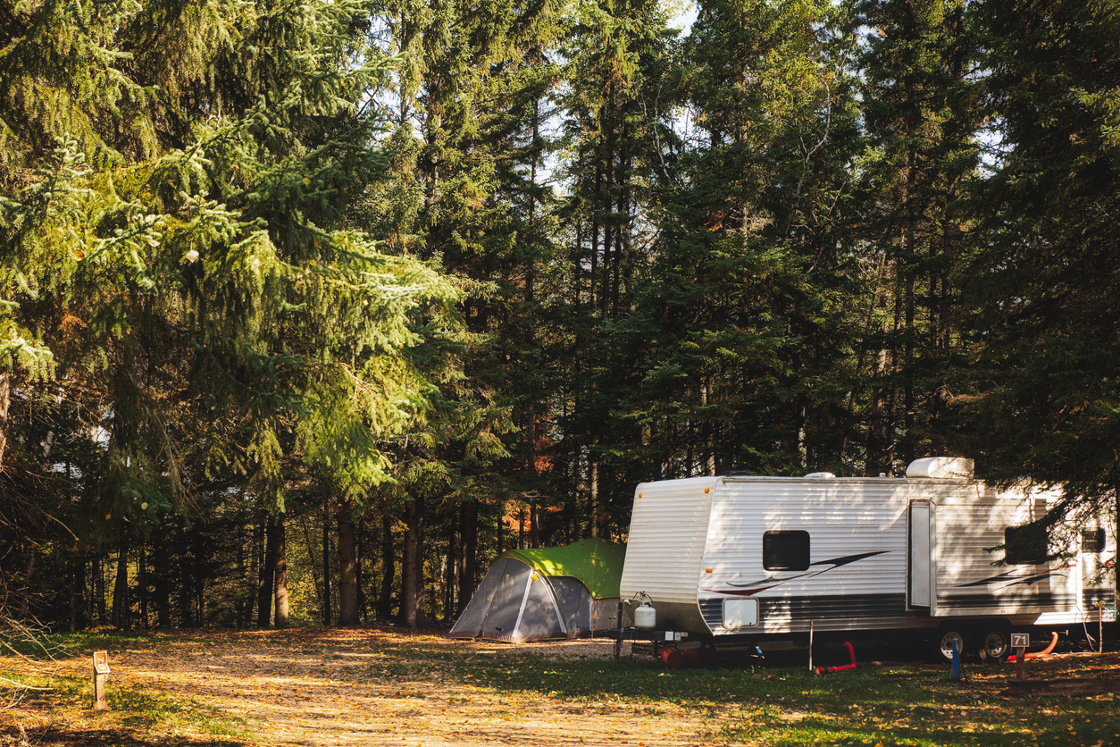 Our Five Camping Destinations With Views