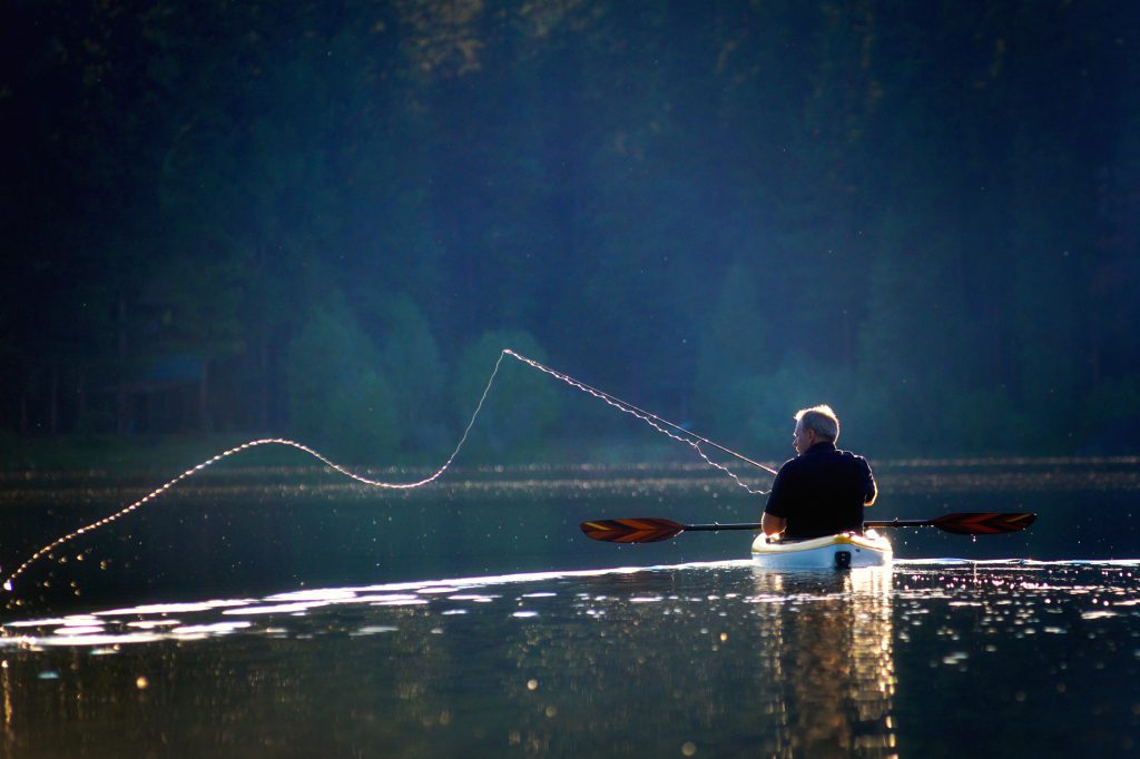 best fishing campgrounds in wisconsin Fishermans Cast on a Sunny Afternoon